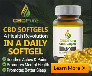 CBD Pure Softgels
