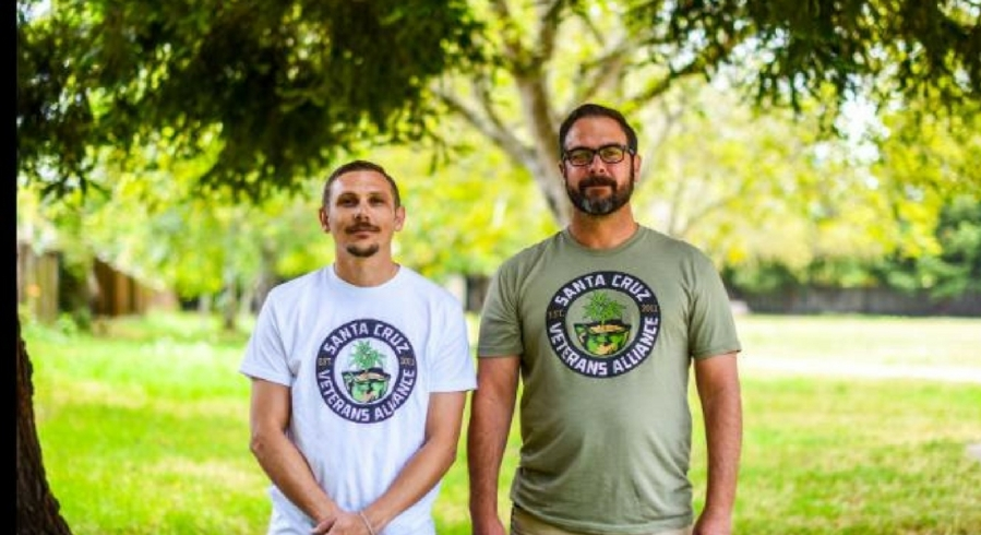 Grass-roots movement helps veterans access marijuana