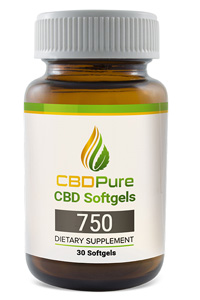 CBDPure softges 750