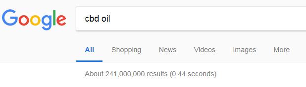 CBD Oil Google