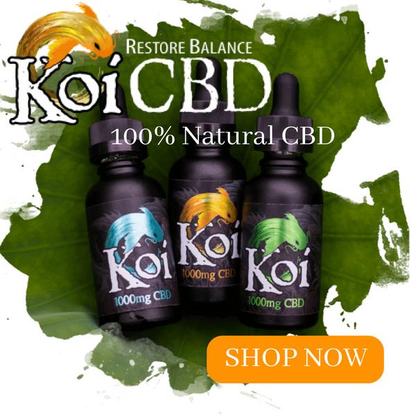Koi CBD Banner