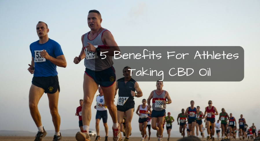 5 Benefits For Athletes Taking CBD Oil
