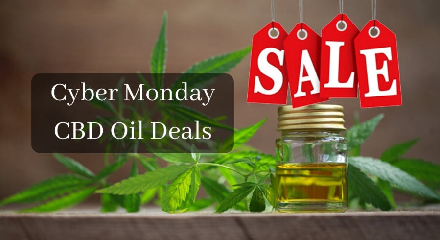 Cyber Monday CBD Oil Deals