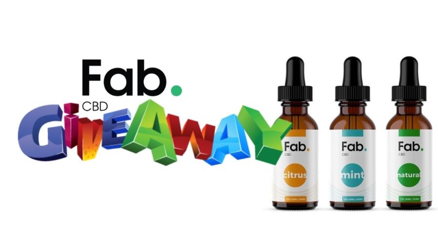 WIN A Bottle Of Fab's Full Spectrum 300mgCBD Oil Drops