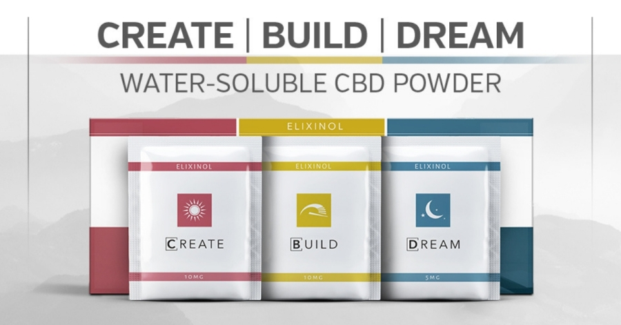 CREATE | BUILD | DREAM Water-Soluble CBD Powder