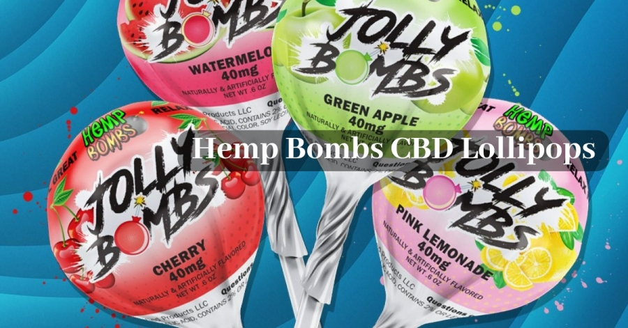 Hemp Bombs CBD Lollipops